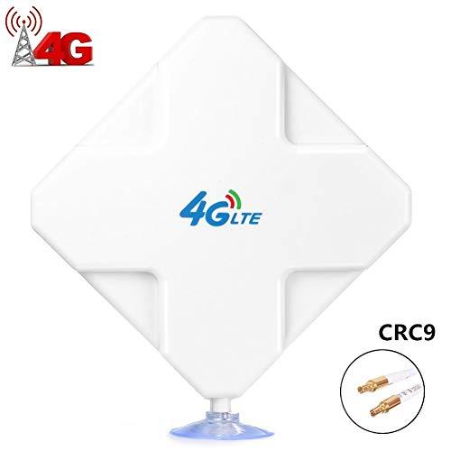 CRC9 4G LTE Antenna, 35dBi High Gain Long Range Network Ethernet Amplificatore di Segnale per la Banda Larga Mobile di WiFi Router(CRC9)