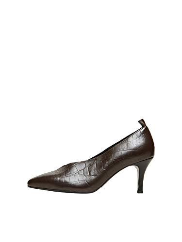 SELECTED FEMME Slfharper Leather Pump B, Mujer