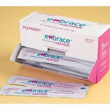 PLP Embrace Varnish 5% Sodium Fluoride w/CXP Bx/50