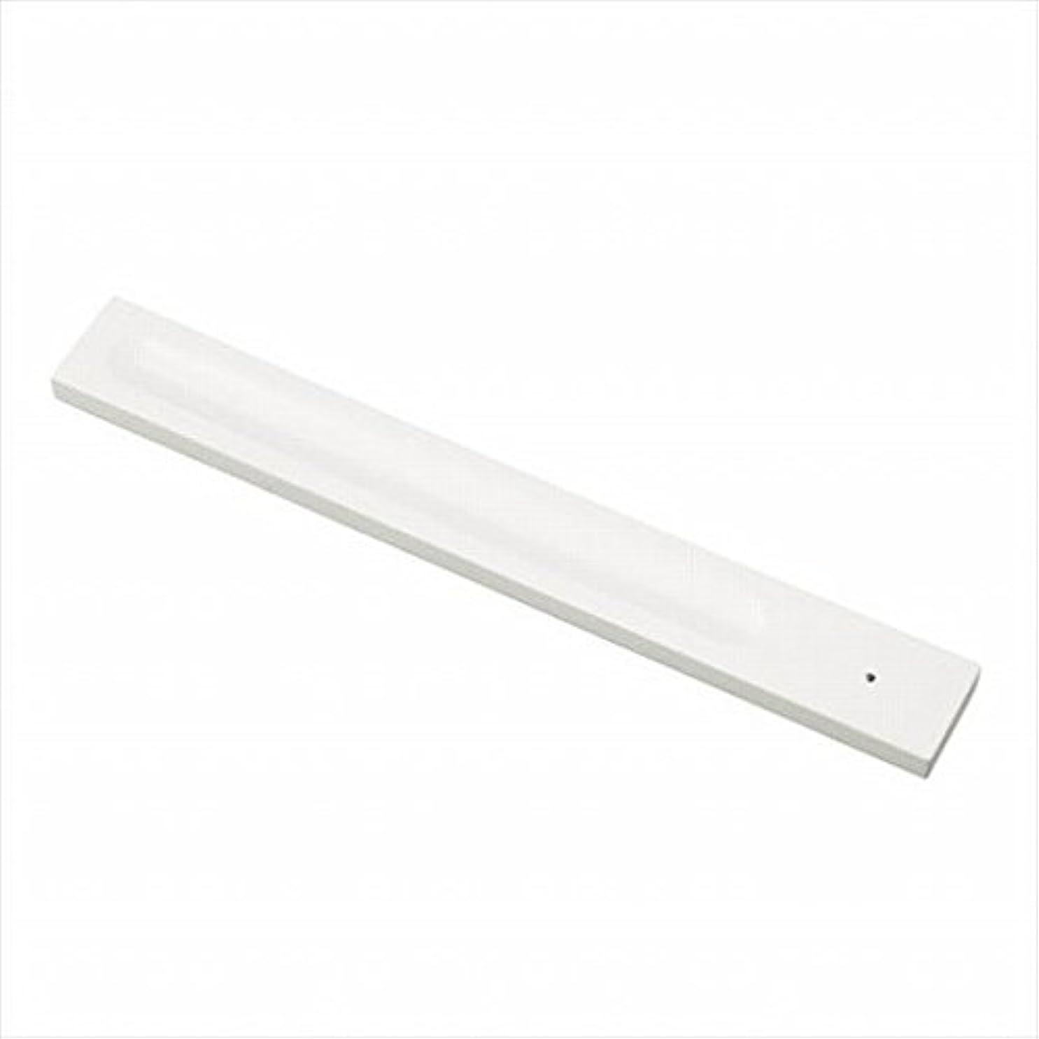 現れる契約する配るkameyama candle(カメヤマキャンドル) バンブーインセンス用ホルダースクエア 「 ホワイト 」 キャンドル 30x246x9mm (E3130000W)