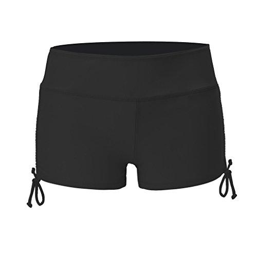 NONMON Damen Badeshorts Bikinihose Schwimmshorts Wassersport Boardshorts Hotpants UV Schutz