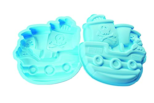 Silikomart 20.335.93.0065 SFT335 PIRATES BOAT - SILICONE MOULD 24,5X23 H 40 MM
