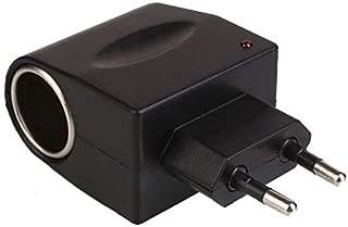 Universal EU Plug 220V AC to 12V DC Car Power Adapter Socket Converter Home Auto Cigarette Lighter