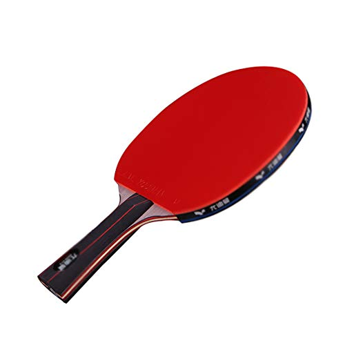 Buy Bargain 3 Layers of Pure Wood + 4 Layers of Carbon Floor Ping Pong Paddle,Table Tennis Bat Case ...