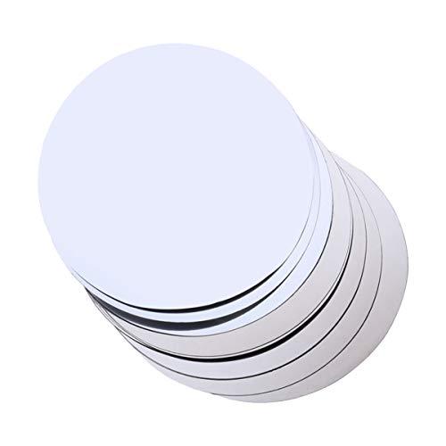 UPKOCH - Vertedor de disco antigoteo para botellas de aluminio, reutilizable, 8 unidades