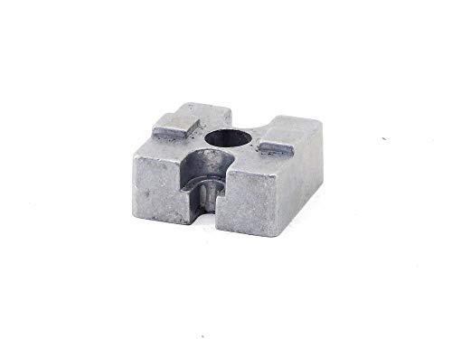 electromyne Bosch Aluprofil B=30x30 H=13mm Vierkant Flanschanschluss Endstück-Profil-Element