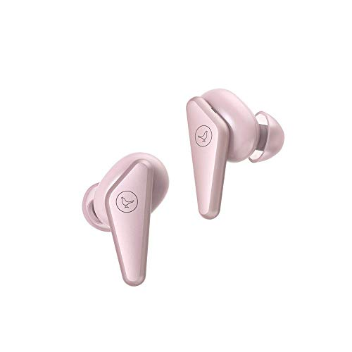 Libratone Track Air True Wireless Earbuds Stylish Design Great Sound, Sound Isolation Earphones, Sweat-Resistant for Workout, Ultral-Light Small,Long Battery Life Pink