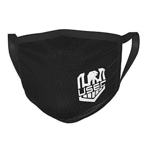 Escape from Tarkov Usec Unisex Reusable Washable Masks Dust Mask for Running Man's Womens Face Mask 1pcs Black