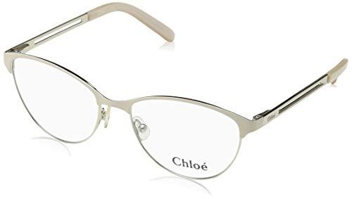 CHLOÉ CE2121 Brillengestelle CE2121 Chloe Rechteckig Brillengestelle 52, Weiß