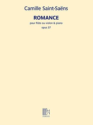Camille Saint-Saëns: Romance Op.37: Fluit of Viool: Score en Onderdelen