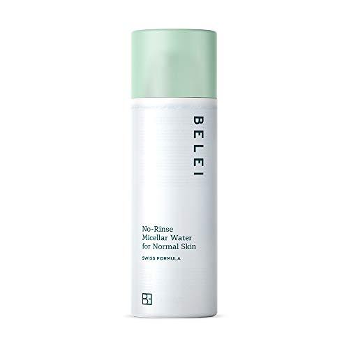 Marca Amazon - Belei Agua micelar sin aclarado para pieles normales, 200 ml