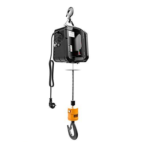 XINGXINGNS Elektrische Seilwinde mit Laufkatze 500 kg Seilzug mit Fahrwerk 12 Meter Stahlseil 230V für Laden- oder Automobilgarage,500kg7.6m