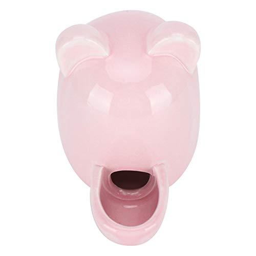 SALUTUYA Bebedero para Mascotas Fácil de Limpiar Rosa para Chinchilla