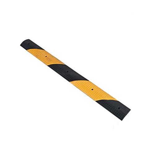 Miniatuur Rubber Snelheid Bump, 2CM Niet-slip Helling Pad Fiets Motorfiets Snelheid Limit Buffer Ramps 100 * 10 * 2CM B