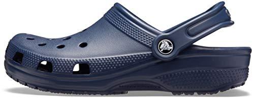 Crocs Classic, Zuecos Unisex Adulto, Azul (Navy), 41/42 EU