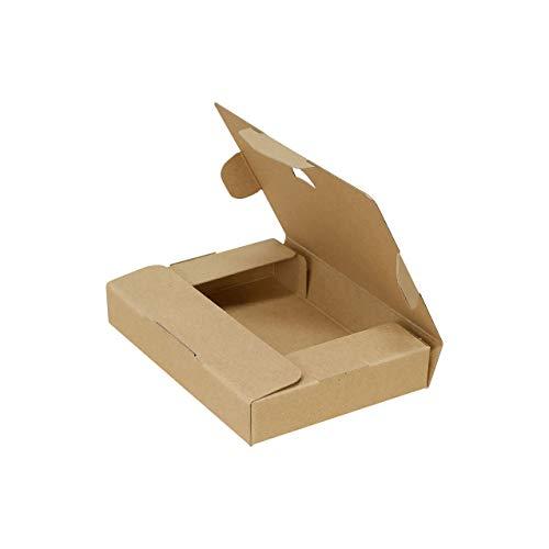 ボックスバンク クリックポスト(ラベルサイズ)ダンボール箱 小型 20枚セット【153×110×28mm】ゆうパケット FY10-0020
