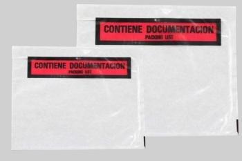 PLASTICOS HELGUEFER - 1.000 Sobres Contiene Documentos 240 X 180 Packing List