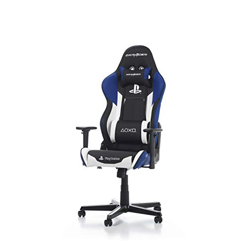 DXRacer Racing Series R90 Gaming Stuhl für Konsole aus Kunstleder, Playstation, PS4