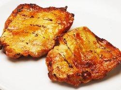 とりたけ自慢の味★ローストチキン(roast chicken) 骨無しもも肉(鳥取県産) 冷蔵品 (5枚入り)
