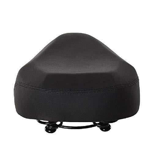 FANXUAN - Asiento cómodo para bicicleta, con espuma viscoelástica que absorbe los golpes, cómodo y transpirable, amplio sillín de bicicleta, almohadilla suave y resistente al desgaste, tamaño talla única