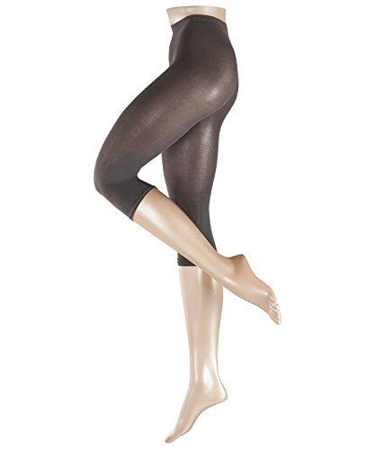 ESPRIT Damen Capri Leggings Cotton - Baumwollmischung, 1 Stück, Grau (Stone Grey 3988), Größe: L
