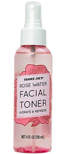 トレーダージョーズ TRADER JOE'S ローズウォーター フェイシャルトナー 化粧水 スプレー コスメ 美容 リフレッシュ 118mL