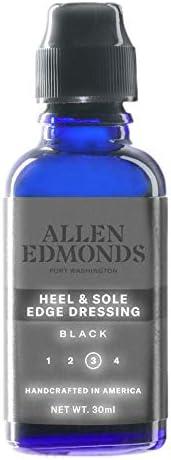 Allen Edmonds Men s Heel Dressing Shoe Care Product Black One Size 0X US product image