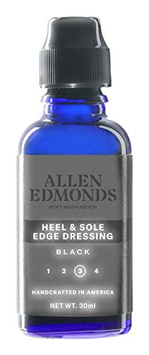 Allen Edmonds Men's Heel Dressing Shoe Care Product, Black, One Size 0X US