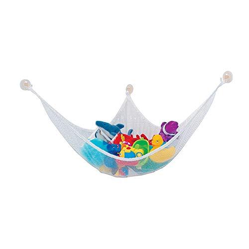 Ruiting Kinder Spielzeug Hängematte 120 * 80 * 80 cm Stofftier Lagerung Net Organizer mit 3 Sucker Kindern Spielzeug Lagerung Hammock