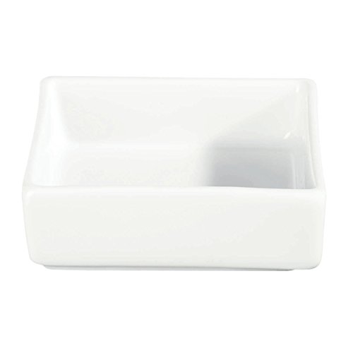 Apero Bowl Square Porcelain