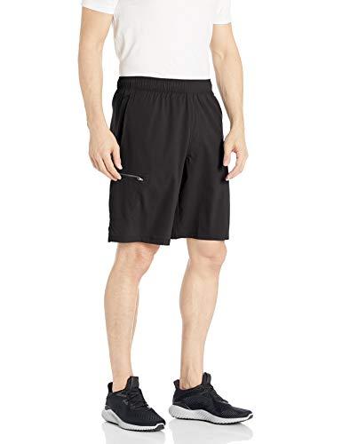 Hanes Sport Men's Hybrid Pocket Short,Large,Black