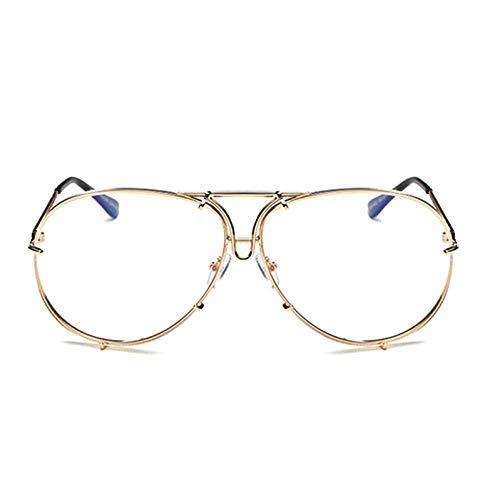 GFVPNN Gafas De Sol Outeye 2019 De Gafas De Sol De Las Mujeres Hombres, Diseñador De Marca Superestrella Gafas De Sol Vintage Mujer Hombre Espejo Gafas De Sol
