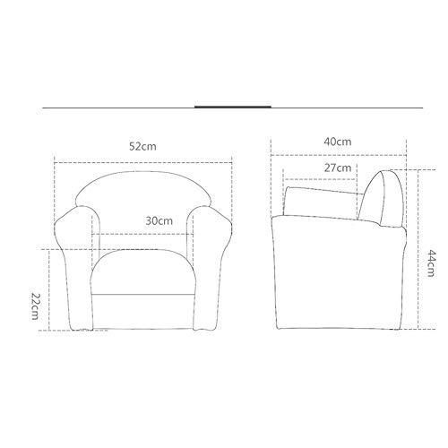 HAKN Canapé pour enfant, siège bébé paresseux (Couleur : Small fresh)
