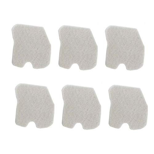TucParts 6 filtros de aire aptos para motosierra Husqvarna 235 235E 236 236E 240 240E 545061801.
