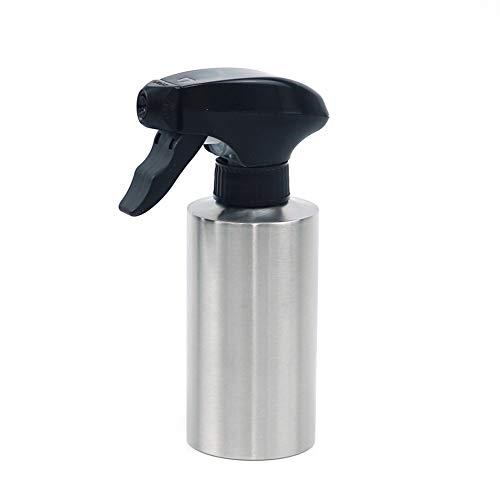 CFPacrobaticS 250 / 350ml Dispensador De Pulverizador De Aceite De Acero Inoxidable Botella Herramienta De Cocina Cocina Nebulizador Rociador De Alcohol, Regadera Regadera Portátil Plata 350ml