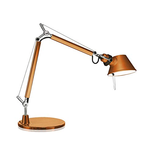 Artemide Tolomeo Micro Lampada da Tavolo, Arancio