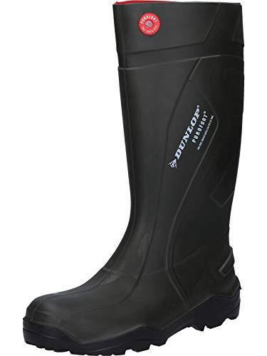 Dunlop Unisex-Erwachsene D760933 PUROFORT+ GROEN 41 Gummistiefel, Grün 08, EU / 7 UK / 8 US