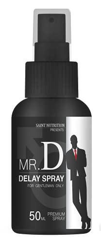NEU: MR. D Delay Spray für den Mann – länger Sex & Spaß, Verzögerungsspray stark bei vorzeitigem Samenerguss & Orgasmus