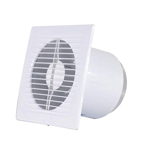 Exhaust Fan Wall-Mounted Kitchen/Household/Bathroom Ventilator Powerful Low Noise Energy Saving and Environmental Protection Waterproof and Dustproof ZHAOSHUNLI 020116