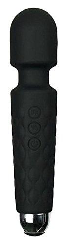 La Rossi Mini Wand 20X Multi-Speed Wireless Power Wand Massager Black