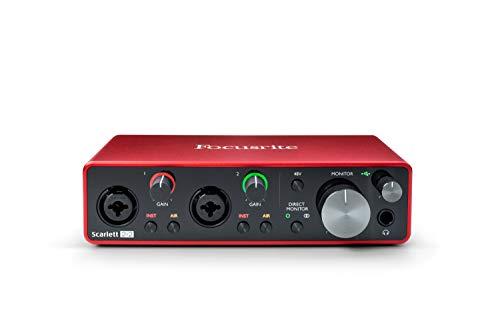 Focusrite Scarlett 2i2 3rd Gen - Interfaz de audio USB