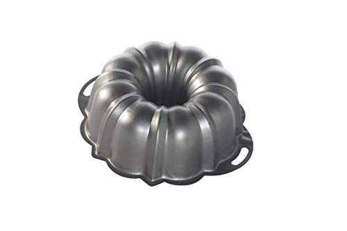 Nordic Ware ProForm Bundt Pan with Handles, 12 Cup