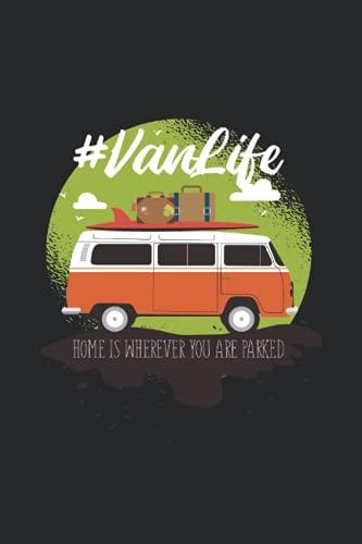 Vanlife: VANLIFE 6'x 9 '120 Páginas Notas Cuaderno para los