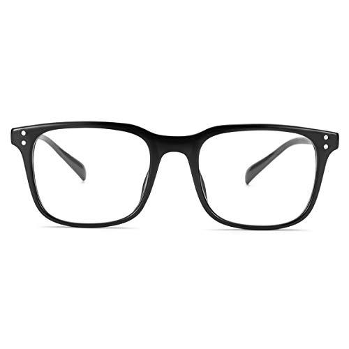 Peekaco Blue Light Blocking Glasses, Mens & Womens Blue Light Glasses Best for Computer Gaming, Reading -Advanced Eight Layer Glasses Relief Eyestrain & Headache.