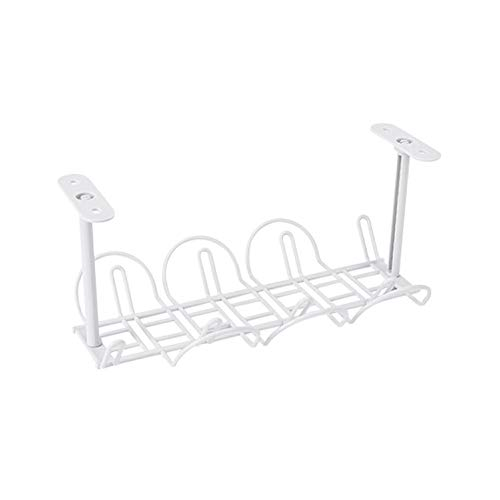 ROSOY  Under Desk Cable Management Tray Organizer für Drahtseil-Ladestecker
