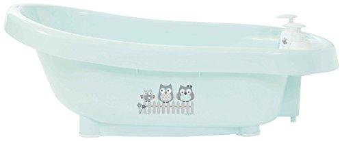 bébé-jou 626032 Thermobadewanne Click Owl Family, grün