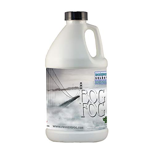 Froggy's Fog – Bog Fog – Extreme High Density Fog Fluid – Long 2 Hour Hang Time – For Halloween, Haunted Attractions…