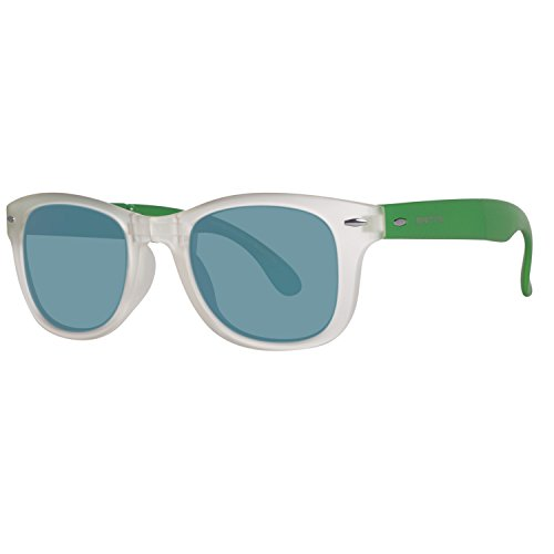 United Colors of Benetton BE987S04 Gafas de sol, Crystl/Green, 51 Unisex