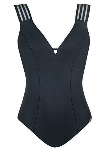 Sunflair Badeanzug Summer Breeze Cup B, Farbe schwarz, Größe 46