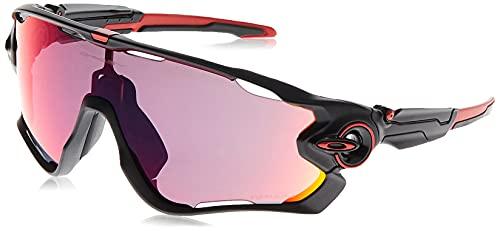 Oakley Jawbreaker, Gafas de Sol para Hombre, Matte Black, 1